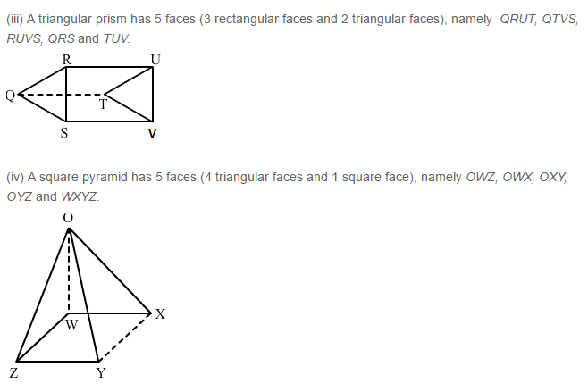 Three Dimensional Shapes RS Aggarwal Class 8 Maths Solutions Ex 19A 1.2
