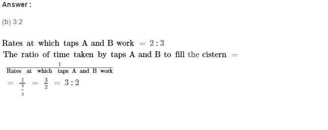 Time and Work RS Aggarwal Class 8 Maths Solutions CCE Test Paper 6.1