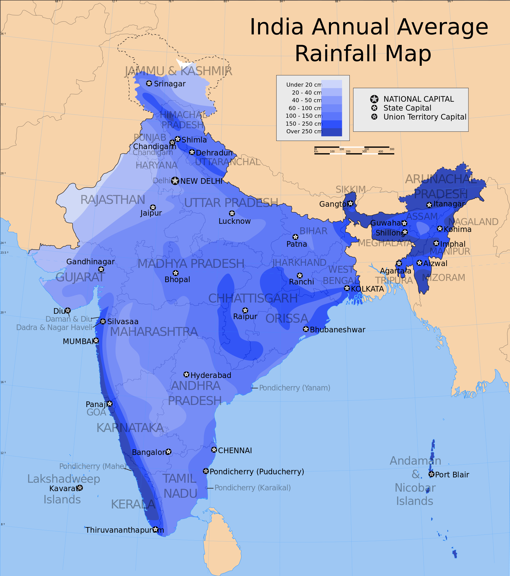 The Climate of India  ICSE Solutions for Class 10 Geography