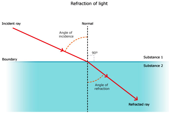 Refraction Of Light Icse Solutions For Class 10 Physics