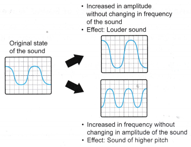 Amplitude and Frequency of Sound Waves