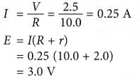 Electromotive Force and Internal Resistance Sample Problems 1