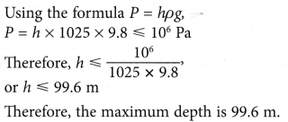 Reduce the Effects of Pressure in Liquids 4