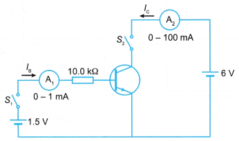 Transistor as a Current Amplifier 7