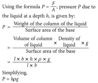 Understanding Pressure in Liquids 5