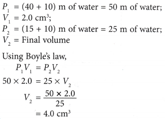 What does Boyle's Law state 10