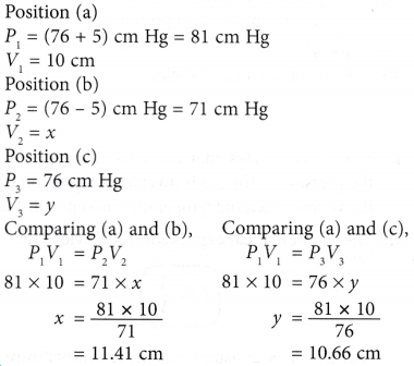 What does Boyle's Law state 12