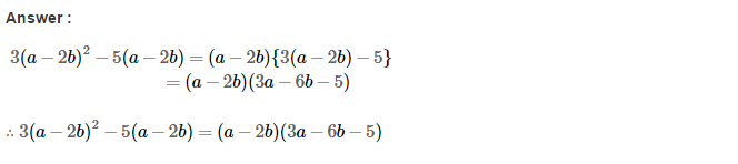 Factorisation RS Aggarwal Class 8 Maths Solutions Ex 7A 12.1