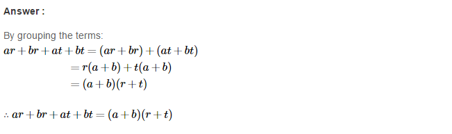 Factorisation RS Aggarwal Class 8 Maths Solutions Ex 7A 18.1