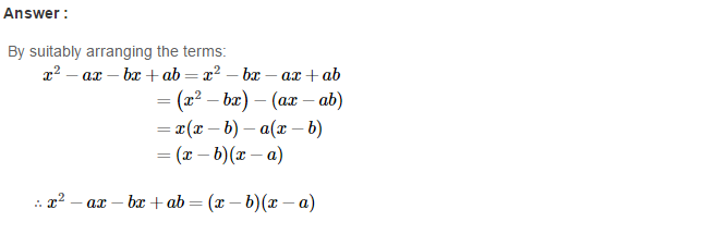 Factorisation RS Aggarwal Class 8 Maths Solutions Ex 7A 19.1