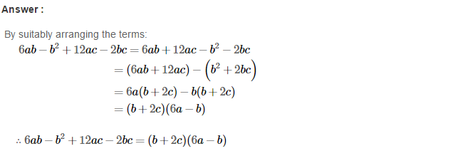 Factorisation RS Aggarwal Class 8 Maths Solutions Ex 7A 22.1