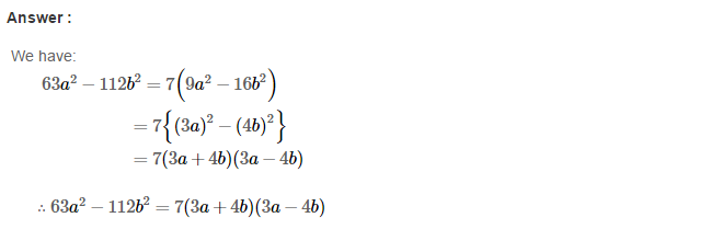 Factorisation RS Aggarwal Class 8 Maths Solutions Ex 7B 13.1