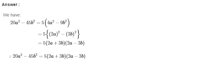 Factorisation RS Aggarwal Class 8 Maths Solutions Ex 7B 14.1