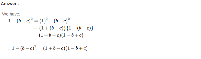 Factorisation RS Aggarwal Class 8 Maths Solutions Ex 7B 21.1