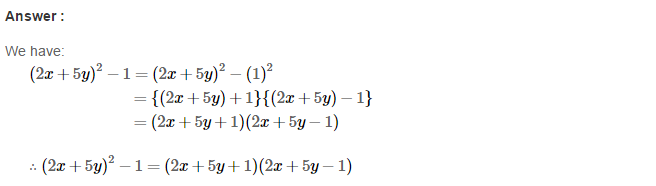 Factorisation RS Aggarwal Class 8 Maths Solutions Ex 7B 24.1