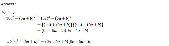 Factorisation RS Aggarwal Class 8 Maths Solutions Ex 7B 25.1