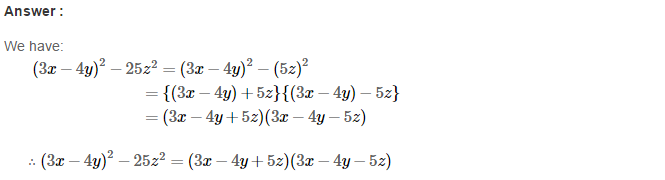Factorisation RS Aggarwal Class 8 Maths Solutions Ex 7B 26.1