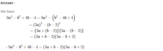 Factorisation RS Aggarwal Class 8 Maths Solutions Ex 7B 30.1