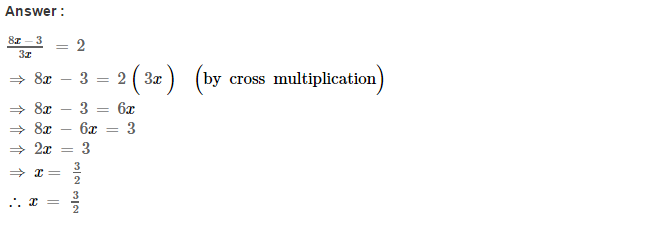 Linear Equations RS Aggarwal Class 8 Maths Solutions Ex 8A 17.1