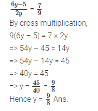 Linear Equations RS Aggarwal Class 8 Maths Solutions Ex 8A 20.1