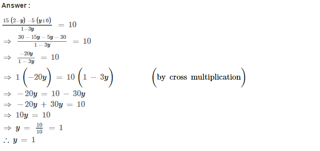 Linear Equations RS Aggarwal Class 8 Maths Solutions Ex 8A 24.1