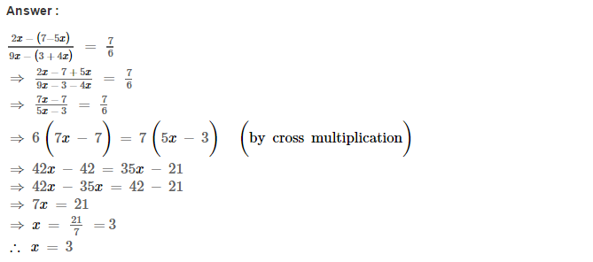 Linear Equations RS Aggarwal Class 8 Maths Solutions Ex 8A 25.1