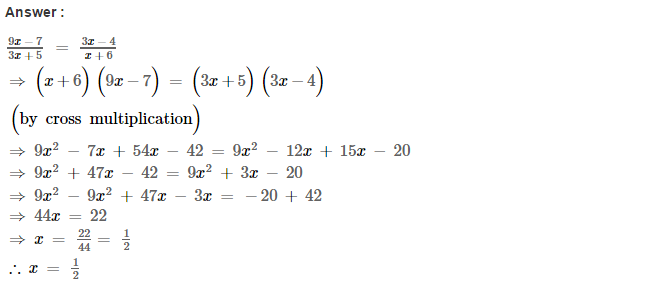 Linear Equations RS Aggarwal Class 8 Maths Solutions Ex 8A 28.1