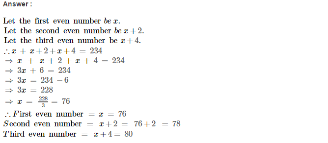 Linear Equations RS Aggarwal Class 8 Maths Solutions Ex 8B 14.1