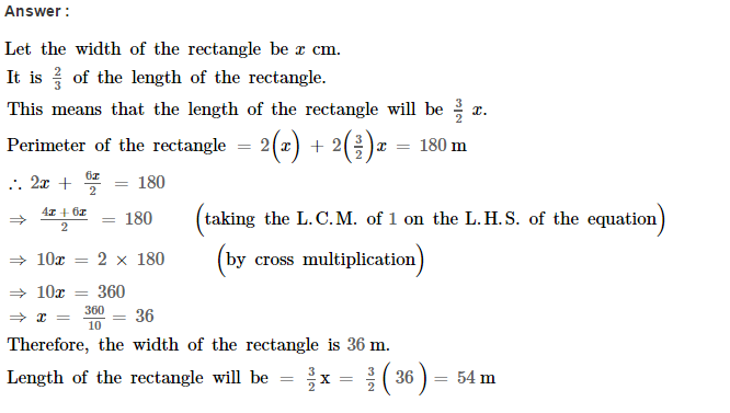 Linear Equations RS Aggarwal Class 8 Maths Solutions Ex 8B 20.1