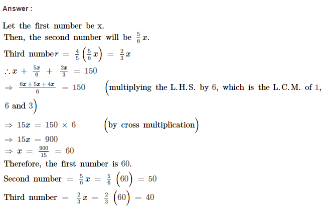 Linear Equations RS Aggarwal Class 8 Maths Solutions Ex 8B 25.1
