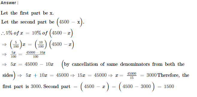 Linear Equations RS Aggarwal Class 8 Maths Solutions Ex 8B 26.1