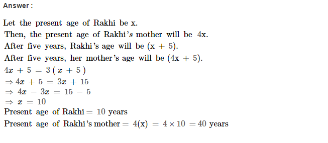 Linear Equations RS Aggarwal Class 8 Maths Solutions Ex 8B 27.1