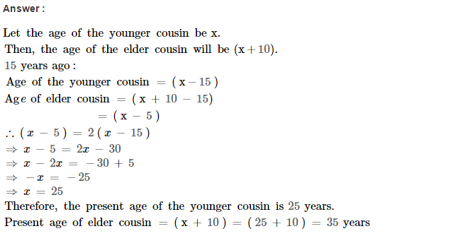 Linear Equations RS Aggarwal Class 8 Maths Solutions Ex 8B 30.1