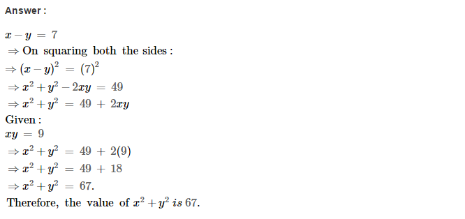 Operations On Algebraic Expressions RS Aggarwal Class 8 Maths Solutions Ex 6D 16.1