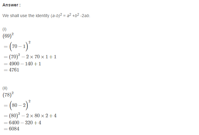 Operations On Algebraic Expressions RS Aggarwal Class 8 Maths Solutions Ex 6D 7.1
