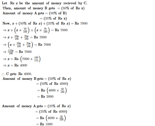 Percentage RS Aggarwal Class 8 Maths Solutions Ex 9A 26.1