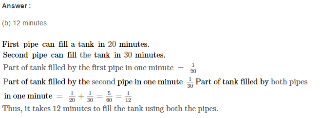 Time and Work RS Aggarwal Class 8 Maths Solutions Ex 13B 15.1