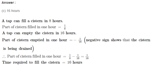 Time and Work RS Aggarwal Class 8 Maths Solutions Ex 13B 16.1