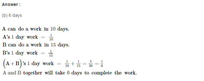 Time and Work RS Aggarwal Class 8 Maths Solutions Ex 13B 2.1