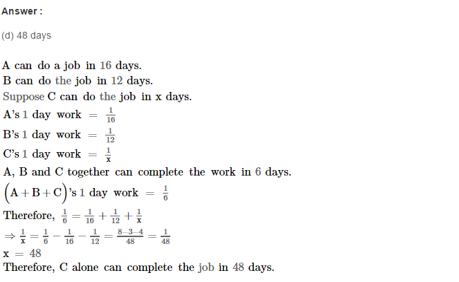 Time and Work RS Aggarwal Class 8 Maths Solutions Ex 13B 4.1