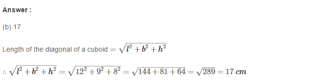 Volume and Surface Area of Solids RS Aggarwal Class 8 Solutions Ex 20C 1.1
