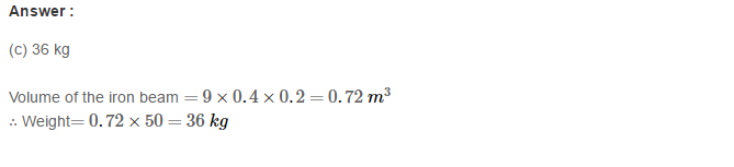 Volume and Surface Area of Solids RS Aggarwal Class 8 Solutions Ex 20C 10.1