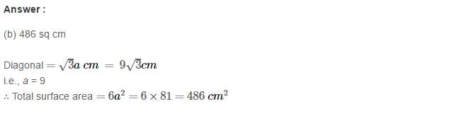 Volume and Surface Area of Solids RS Aggarwal Class 8 Solutions Ex 20C 16.1