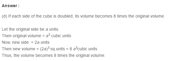 Volume and Surface Area of Solids RS Aggarwal Class 8 Solutions Ex 20C 17.1
