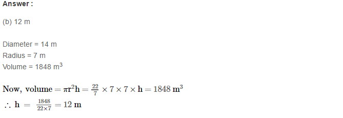 Volume and Surface Area of Solids RS Aggarwal Class 8 Solutions Ex 20C 22.1