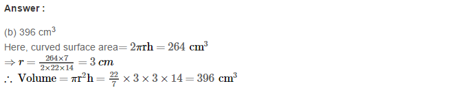 Volume and Surface Area of Solids RS Aggarwal Class 8 Solutions Ex 20C 28.1