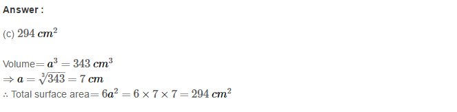 Volume and Surface Area of Solids RS Aggarwal Class 8 Solutions Ex 20C 3.1