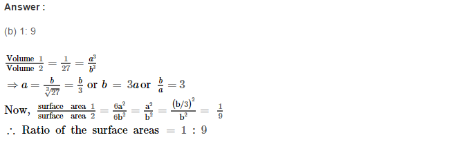 Volume and Surface Area of Solids RS Aggarwal Class 8 Solutions Ex 20C 8.1