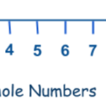 Whole Numbers On A Number Line 1