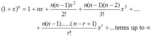Binomial Theorem for any Index 2